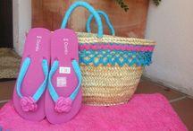 cestas decoradas y toallas