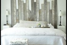 Headboards from Salvaged Materials / An inspiration board for DIY headboards using repurposed and salvaged items.   Get your inspiration here, then head over to ReHouse to get your supplies!  www.rehouseny.com