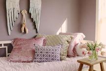 chambre tête de lit dorée