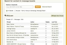Genealogy - Blogs & Message Boards