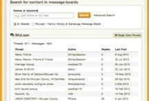 Genealogy Message Boards