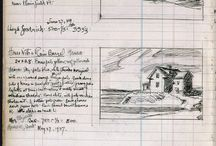 Edward Hopper sketchbook