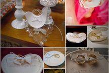 Porta Alianças / Escolha, e personalize o seu! Para um casamento feito em detalhes www.atelieranart.com.br