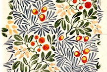 Voysey / The V&A's finest examples of C.F.A Voysey's colourful patterns and textile designs have been applied across tea towels, scarves, tea cups and stationery in the V&A Shop.   / by V&A Shop