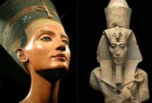 Egypt-Akhenaten and Nefertiti / Their love and their life and death