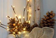 Christmas Decor...Light it up! / by Jessica Jones Dinkelacker