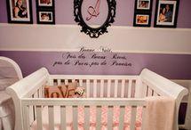 Baby girl nursery