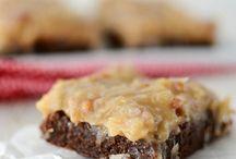 Bars & Brownies - German Chocolate / German Chocolate Brownies Samoa Brownies Coconut Brownies / by Sue Vanden Berge