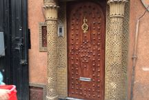 The Doors of Marrakech / Doors inside the medina - the old city - of Marrakech, Morocco