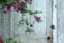 antik beltéri ajtó
