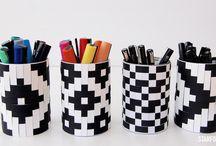 DIY projekter i papir / Origami og flettevejledninger i papir