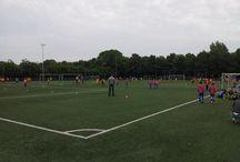 Championsleaguevoetbal in Roelofarendsveen / 3 woensdagavonden is het kunstgras van DOSR het strijdtoneel van een jeugdvoetbaltoenooi olv Voetbalopleidingscentrum De Complete Techniek.