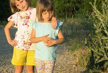 Sewing patterns - girls summer