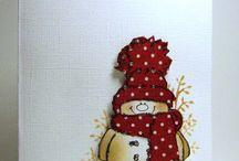 snowmen / by Stephanie Evans