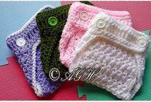 diaper crochet per bébé