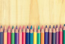 All About Coloring / Join the fun of adult coloring books and crafts with gel pens, markers and watercolor pencils.