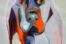 Dog face / Semi abstract
