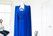 Royalty / Queen Maxima's cronation Kings blue gown