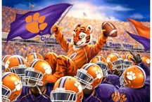 Clemson Tigers / by Donna Fleetwood