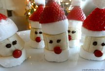 Trees, Wreaths, and Santas