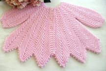 Baby evies knits