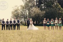 Wedding Photo Ideas : Wedding Party / Wedding photography ideas for the bride and groom, and their wedding party!