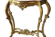 CONSOLE TABLES AND HALL TABLES