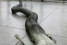 Merman Sculpture