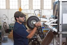 XCOR Aerospace Engineers / at Hangar 61 in Mojave, California engineers working on Lynx Mark I
