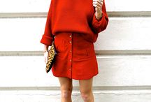 MONOCHROMATIC / Outfits in all one colour; tip to toe!