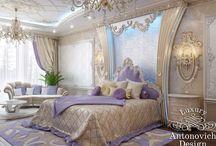 Спальни для девочек