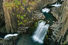 WATERFALLS - AROUND THE WORLD & U.S.A. / Just lovely waterfalls - Some Common & Some not so Common! / by Jjean