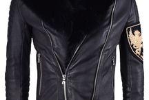 Balmain: Fur Trimmed Biker Leather Jacket; 5.250€