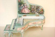 Afbeelding piano / piano's in alle soorten en maten