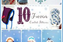 crochet kiddies stuff (free patterns)hats,headbands, bags / crochet for kids