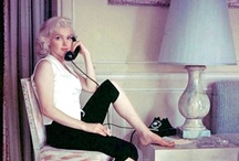 Marilyn On The Phone / by Ali LeFevre