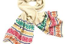 Echarpes laine