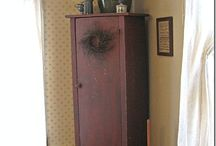 Handmade primitive furniture ideas / by Sheila Billy Marker