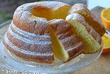 chiffon cake e ciambella