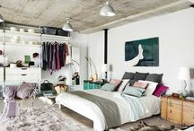 Apartment interior design / Inspiration for designing, styling, and decorating an apartment. There's something for everyone, even if you're short on space, low on budget, or big on style.