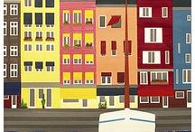 Affiches ville pays