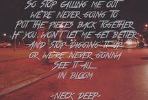 neck deep