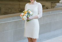 Pop-up (elopement) Wedding Dresses / cute dresses perfect for a pop-up wedding www.popupweddingscalgary.com