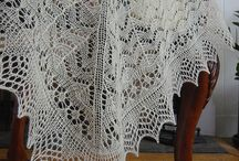 heirloom baby shawl