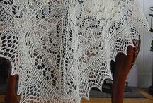 heirloom baby shawl