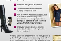 """""""Catalog Spree Pin To WIN / by Sharyn Parsell"""