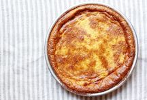 Sweets: Bread Puddings and Torts