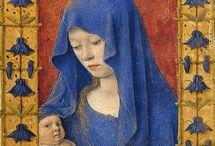 Coloured Veils - Medieval