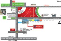 A unipark location map greater noida