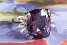 Amethyst Finds / One of a kind estate, vintage & antique amethyst jewelry from Jewelry Finds®!!!
